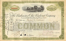 Stock certificate issued to and autograph by Herbert V. Prochnow Toastmaster