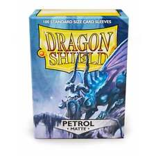 MTG BNIB Dragon Shield Sleeves Matte Petrol (100) DS100MPET
