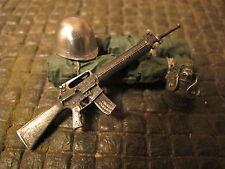 Gewehr M16 M16A1 Metall US Army RC Panzer LKW Ladegut Diorama Deko Zubehör 1/16