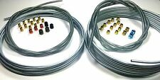 Complete 3/16 and 1/4 inch Brake Line Kit WITH Fittings and Spring Guard