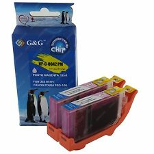 2-PACK CLI-42 Photo Magenta Ink Cartridge Tank for Canon PIXMA PRO-100