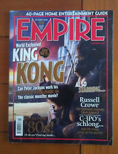 Empire Magazine October 2005 Peter Jackson's King Kong Cover