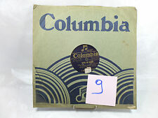 VINYLE 78T COLUMBIA-SOUS UN CIEL PLUS TENDRE(fox trot),POUR UN BAISER