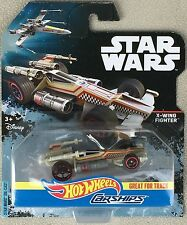 2016 HOT WHEELS STAR WARS ROGUE ONE CARSHIPS X-WING FIGHTER DIECAST - MIP