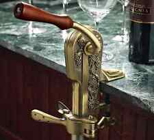 Legacy Corkscrew Antique Bronze Wine Remover Counter Bar Mount Bottle Opener