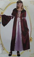 MEDIEVAL GIRL COSTUME CHILDS TUDOR  FANCY DRESS  NEW