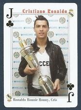 PLAYING CARD-FAR EAST ISSUE-CRISTIANO RONALDO-MANCHESTER UNITED-REF #JC