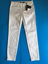 NWT Polo Golf Ralph Lauren Women's Skinny Pants White Size 4 $125