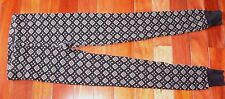 Top Shop Black Gray Diamond Patterned Extra Soft Extra Thick Leggings 8