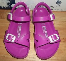 Birkenstock Rio Kids Girls EVA Sandals Ankle Strap New EU 28 /US 10 -10.5 N