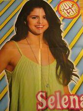 Selena Gomez, Cody Simpson, Double Four Page Foldout Poster