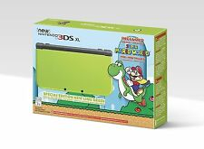 Nintendo New 3DS XL Lime Green Special Edition Super Mario World System Console