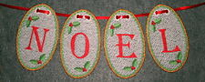 FSL CHRISTMAS ALPHABET #1 3IN - 26 MACHINE EMBROIDERY DESIGNS 4 X 4 HOOP (AZEB)