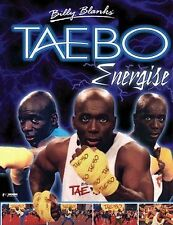 Billy Blanks Tae-Bo Energize DVD Mens Fitness Workout New Original UK Release R2