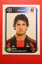 PANINI CHAMPIONS LEAGUE 2010/11 # 427 AC MILAN PATO BLACK BACK MINT!