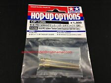 Tamiya 54296 RC M-06 PRO 3x34mm Titanium Coated Suspension Ball Shaft 1:10 RC