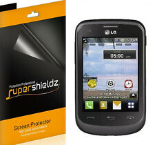 6X Supershieldz HD Clear Screen Protector Shield Cover Saver For LG 306G / 305C