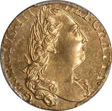 Great Britain 1776 George III gold Guinea PCGS Geniune
