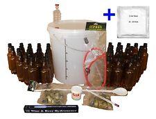Cider Making Equipment - Full Starter Kit for 33L/7 Gal Homebrew Beer Lager Wine