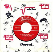 MFD IN CANADA FRENCH QUEBEC 1965 BEAT ROCK 45 RPM LES CLASSELS : N'ATTENDS PAS