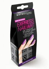 Maybelline Express Nail Art - Tier Prints Collection - Nail Art Schablone Set