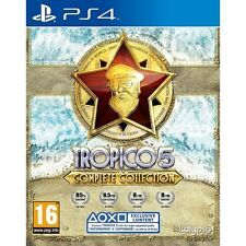 Tropico 5 Complete Collection (PS4)  BRAND NEW AND SEALED - QUICK DISPATCH