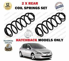 Para Peugeot 307 1.4 1.6 2.0 + HDI Hatchback 2000 -- > NUEVO 2 X Trasero COIL Springs Set