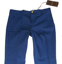 BNWT LUXURY MENS GUCCI ITALIAN FORMAL/ WORK ROYAL BLUE TROUSERS 8 UK EUR 38