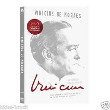 DVD Vinicius de Moraes 2-Disc [ Subtitles in English + Spanish + Portuguese ]