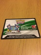 Pokemon TCG Online Shiny Kalos Tin Shiny Xerneas Box code emailed!