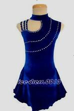 Exclusive Figure Skating Dress Ice Skating Competition custom size 6-XL Z044