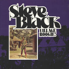 steve black - village boogie! ( 1979 )  vinyl LP re-release