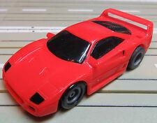 Für Slotcar Racing Modellbahn ---  Ferrari F 40 mit Tyco Motor