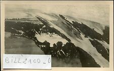 photo ancienne.Mont-Blanc. le glacier de Leschaux .1936