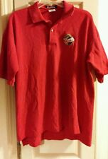 WNBA Indiana Fever Red Polo Shirt Womens Size Large