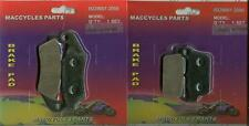 Kawasaki Disc Brake Pads KX450F 2012 Front & Rear (2 sets)