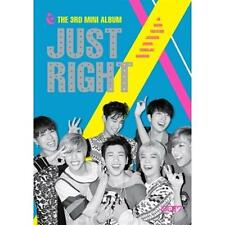 GOT7 3RD MINI ALBUM [ JUST RIGHT ] CD+BOOKELET+1 PHOTO+1 PHOTO CARD