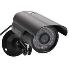 HD CCTV Surveillance Security Camera Waterproof Outdoor IR Night Vision Black
