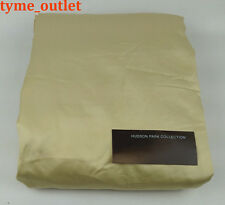 Hudson Park FITTED Sheet 600 TC Gold QUEEN Solid 100% Egyptian Cotton
