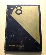 1978 Miller Creek Jr High School Yearbook San Rafael California CA