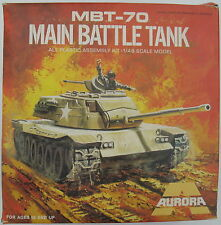 Aurora 318-mbt-70 Main Battle Tank - 1:48 - CARRO ARMATO MODELLO MILITARE KIT KIT