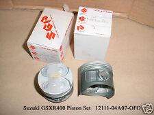 Suzuki GSXR400 Piston STD x2 NOS GSX-R400 STANDARD SIZE PISTONS 12111-04A07