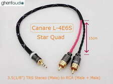 B01 (1m 3ft)--- 3.5mm Jack (1/8') TRS(m) AUX Stereo to Dual 2RCA(m) for ipod/mp3