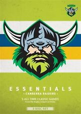 NRL ESSENTIALS CANBERRA RAIDERS NEW SEALED 3 DVD SET FRE POST!