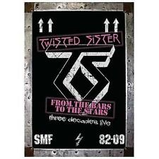 TWISTED SISTER-FROM THE BARS TO THE DVD NEW