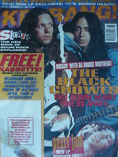 KERRANG 521 - BLACK CROWES - SKID ROW - PEARL JAM - SLAYER