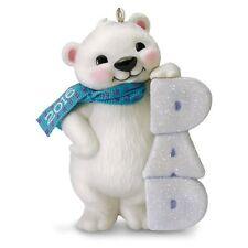 Hallmark 2016 Dad Polar Bear Ornament