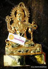 ASHTADHATU SHIVA SHIV SIVA SHANKAR BUM BHOLE BOLE BABA STATUE IDOL GOLD POLISH