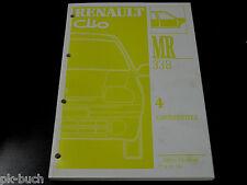 Werkstatthandbuch Karosserie /  Karosserieteile Renault Clio, Stand 1997!