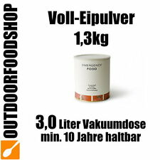 VOLLEIPULVER [1300g] Notvorrat Krisenvorsorge Emergency Food Notration